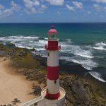 Imagem Aérea com Drone Farol de Itapoan Salvador Bahia