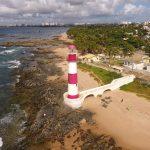 Foto Aérea com Drone Farol de Itapoan Salvador Bahia