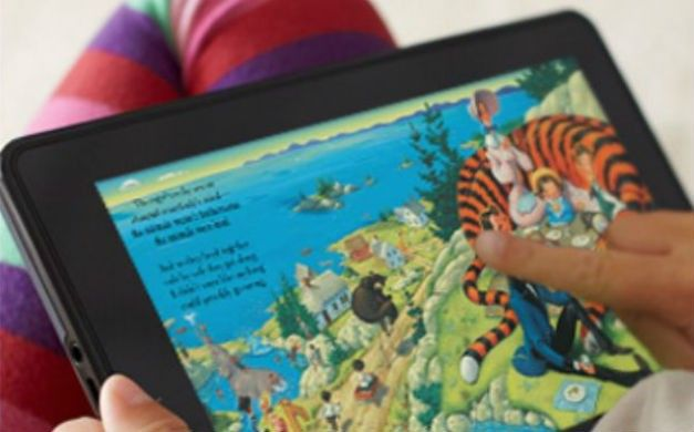 tablets Android Kindle Fire está se tornando o rei