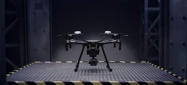 Drone DJI tecnologia em imagens aéreas
