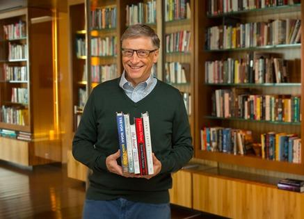 Bill Gates indica 4 livros para os seus seguidores